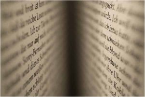 Pages of a book. Professional document translation UK