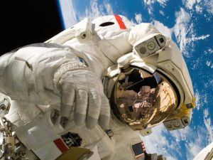 Image of an astronaught to illustrate translation services for the life science industries